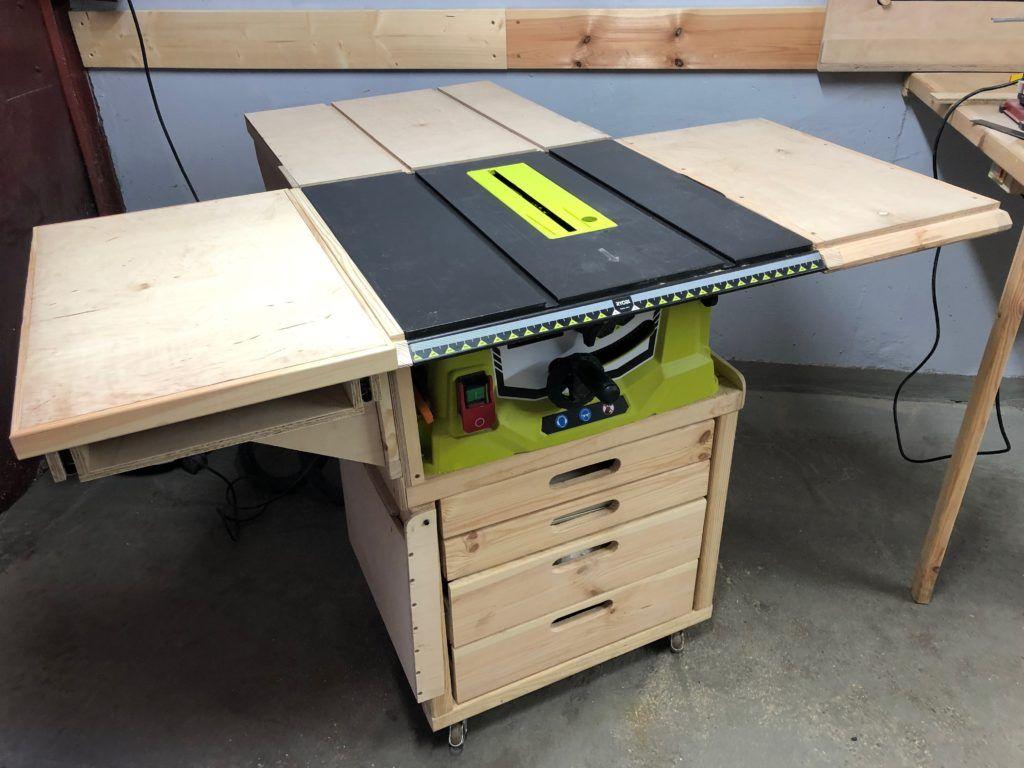 Ryobi RTS 1800G - DIY Format Table Mod - Prawie jak formatówka - Modyfikacja