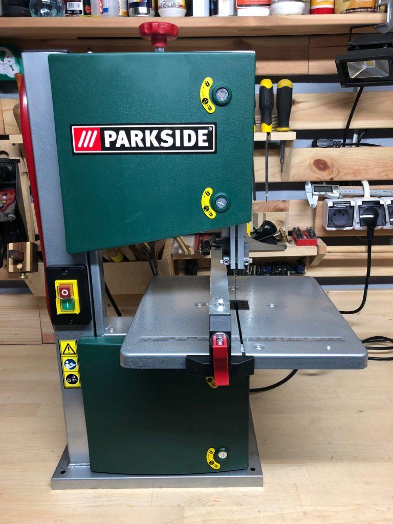 Pilarka taśmowa PARKSIDE PBS350A1 - gotowa do pracy
